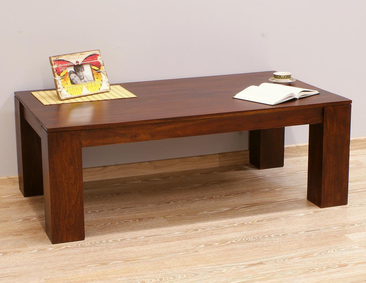 Ława kolonialna stolik kawowy lite drewno palisander indyjski