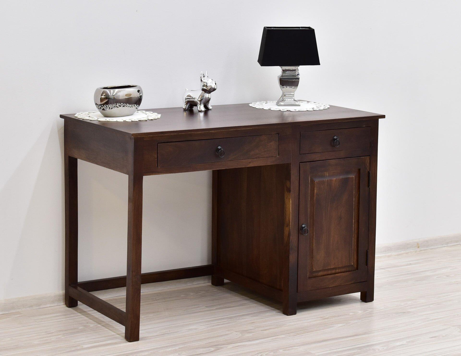 biurko kolonialne indyjskie ciemny braz (3)