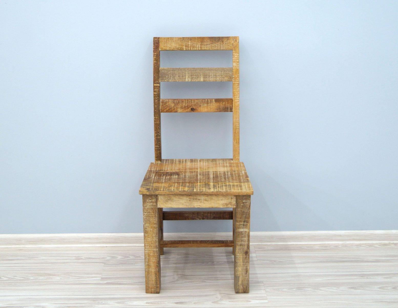 Krzesło kolonialne lite drewno mango Loft