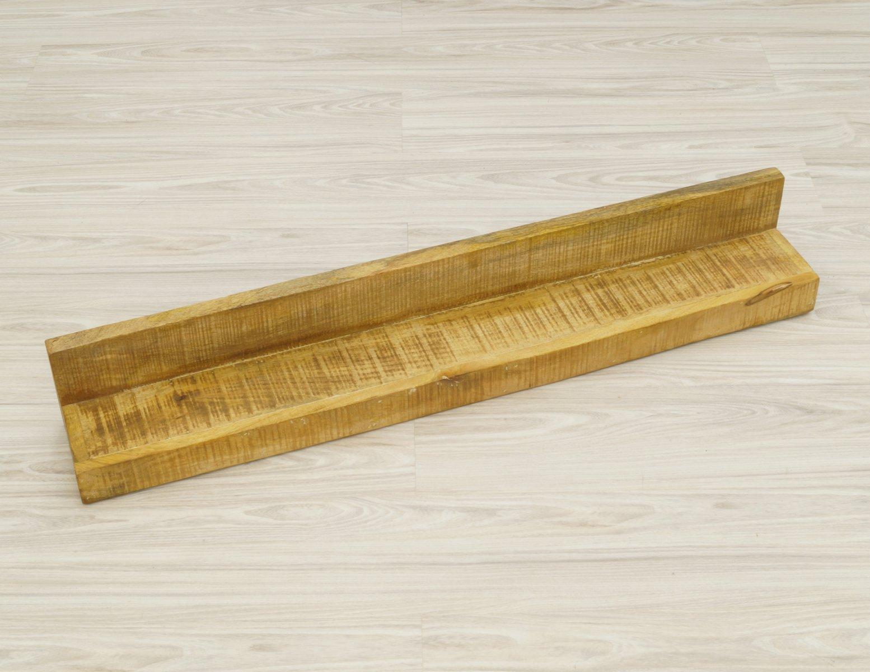 Półka ścienna lite drewno mango 110cm styl Loft