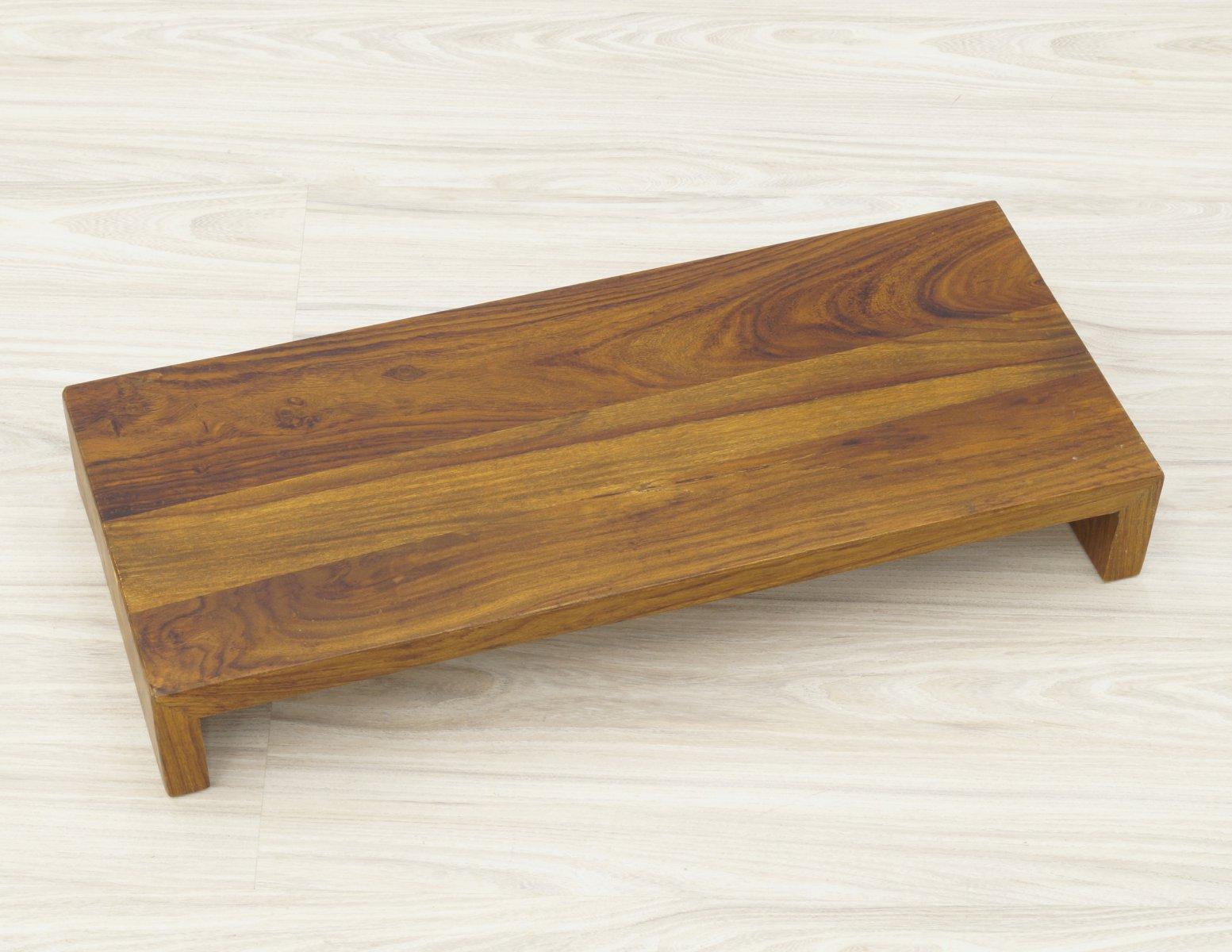 Półka ścienna lite drewno palisander indyjski jasny brąz długość 60cm