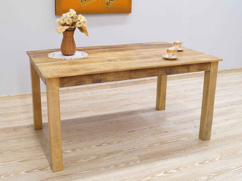 Stół kolonialny lite drewno mango styl Loft