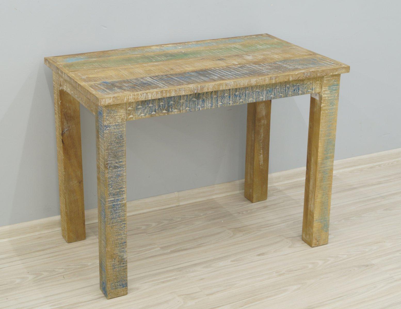Stół kolonialny lite drewno mango styl Shabby Chic