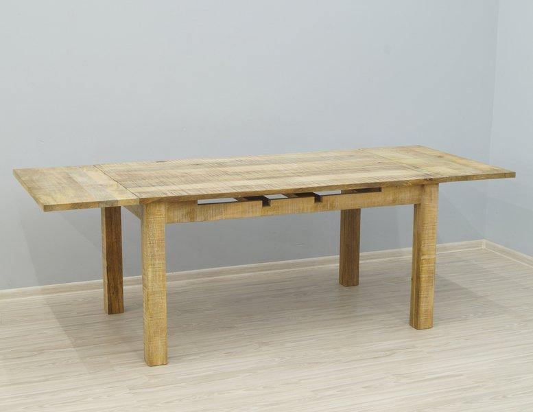 Stół kolonialny rozkładany lite drewno mango styl Loft