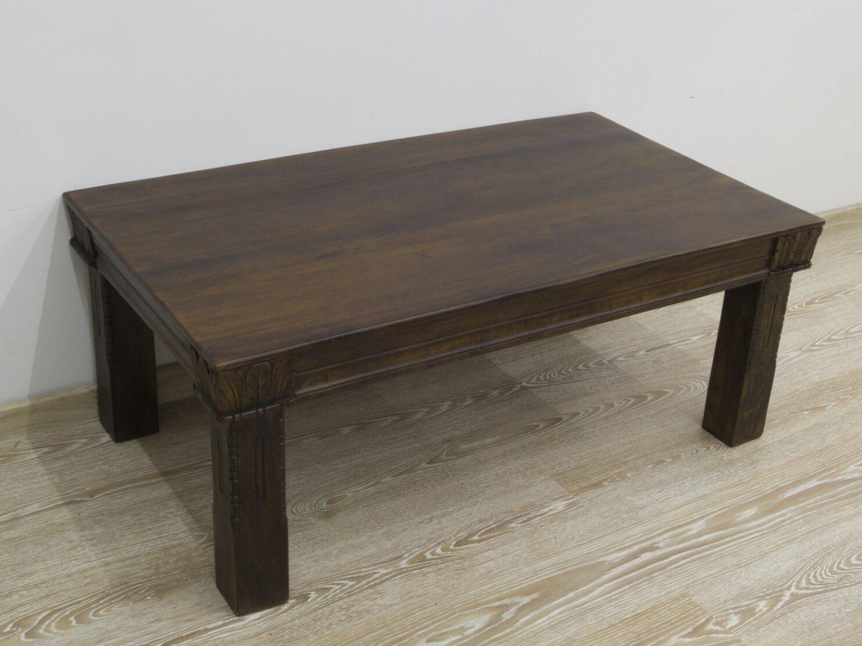 Ława kolonialna stolik kawowy lite drewno akacja indyjska
