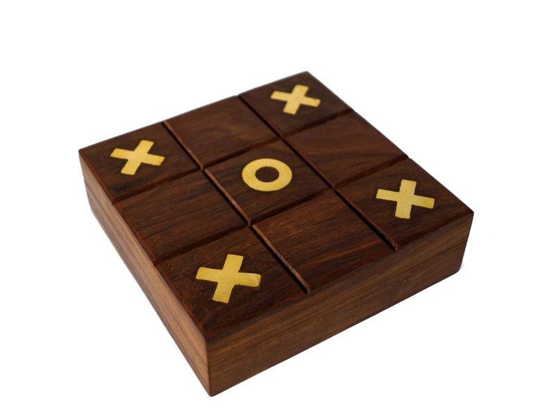 Indyjska gra drewniana kolko krzyzyk