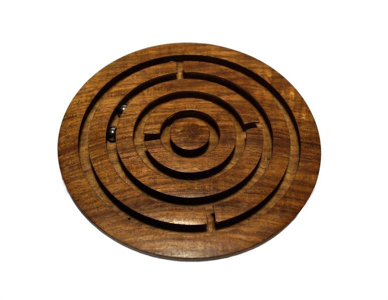 Indyjska gra drewniana labirynt