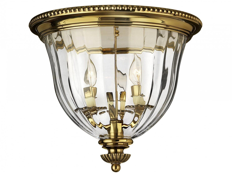 Lampa sufitowa plafon ręcznie wykonana w odcieniu oksydowanego mosiądzu w klasycznym stylu