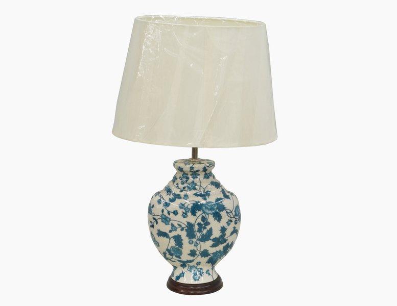 Lampka stolowa indyjska stylowa recznie malowana