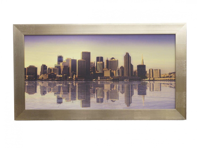 Obraz panorama miasta