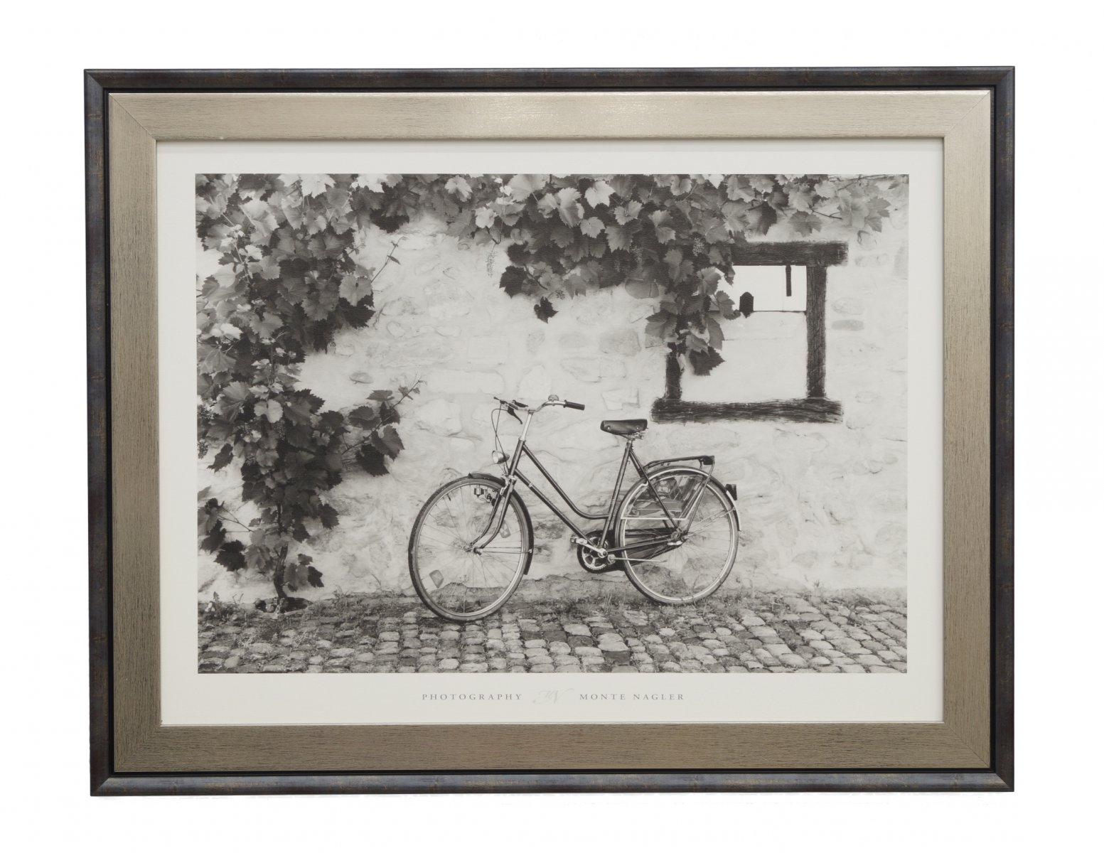 Obraz rower uliczka