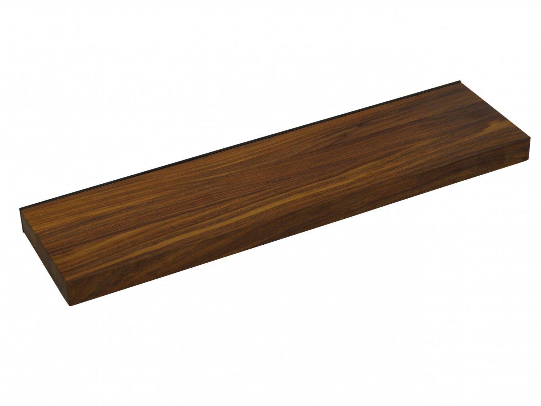 Półka ścienna lite drewno palisander indyjski jasny brąz długość 90cm