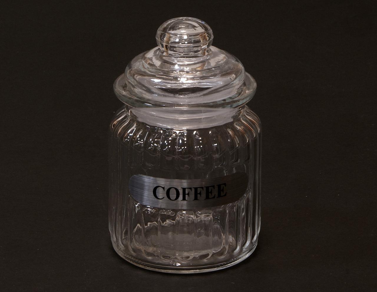 Sloik sloiczek transparentny na kawe