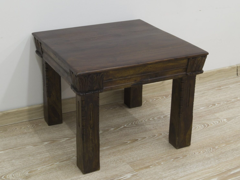 Stolik kawowy lite drewno akacja indyjska