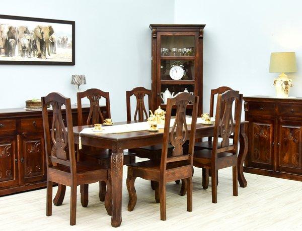 Kolekcja mebli kolonialnych indyjskich Warszawa 100% lite drewno