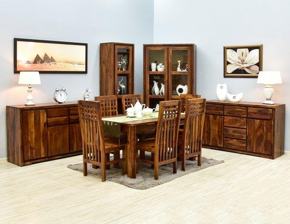 Kolekcja mebli kolonialnych NEO lite drewno egzotyczne
