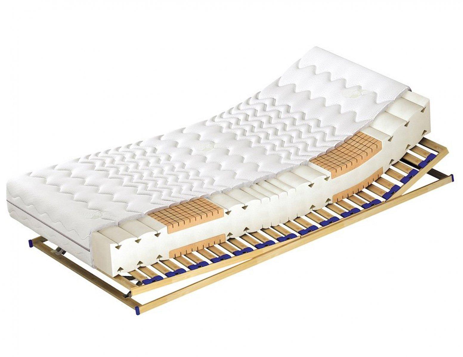 Materac piankowy z wkładem o zwiększonej elastyczności Bionatural 160 x 200 cm