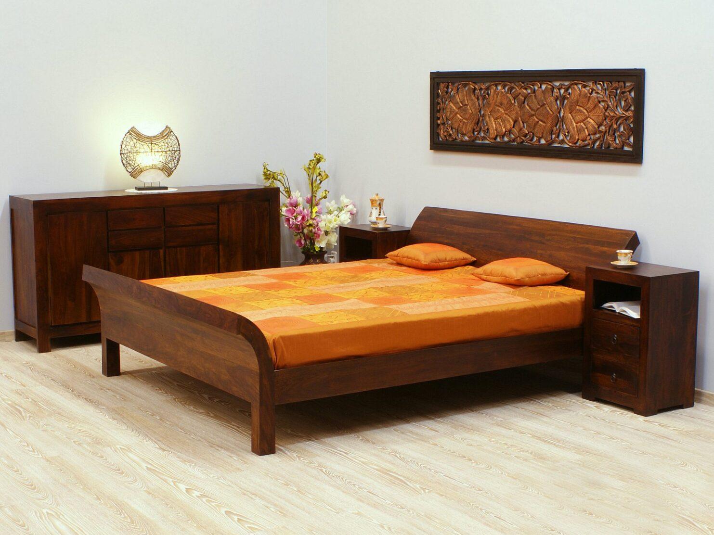 Kolekcja Modern z palisandru indyjskiego