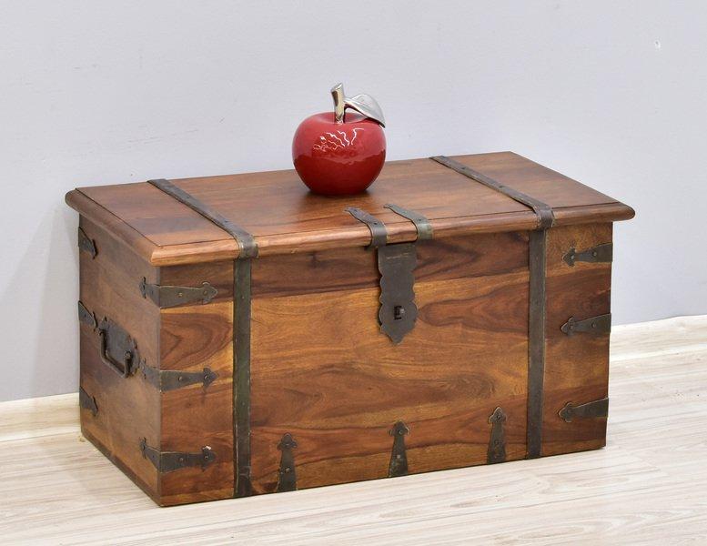Kufry indyjskie, skrzynie drewniane