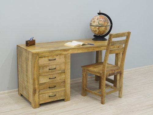 biurka sekretarzyki nowoczesne loftowe industrialne kolonialne lite drewno