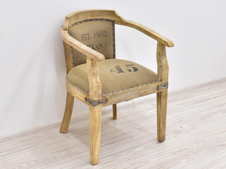 fotel indyjsi kolonialny drewno mango material styl loft (3)