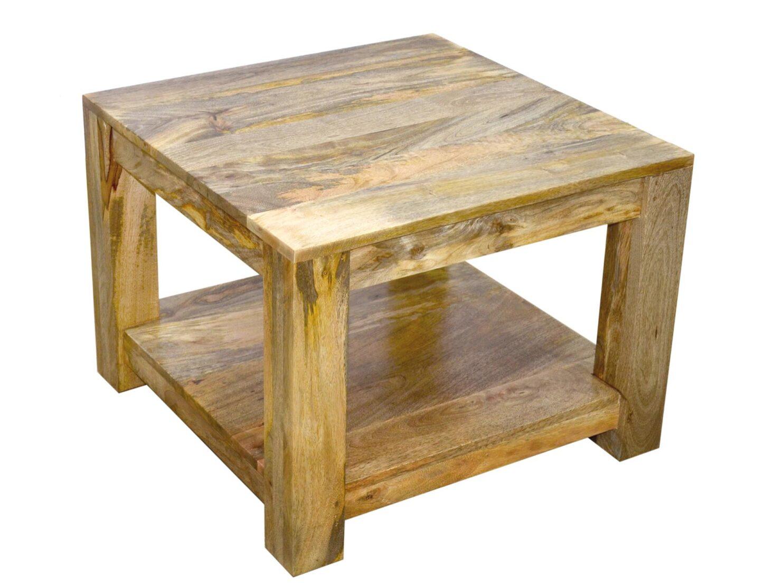 stolik lawa kolonialna indyjska kwadrwt z polka drewno mango (1)